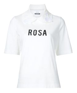 Muveil | Rosa Collared T-Shirt