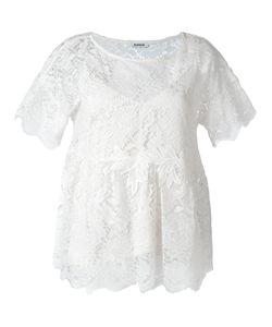 P.A.R.O.S.H.   P.A.R.O.S.H. Embroidered Lace Blouse Xs