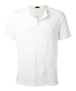 Roberto Collina | Open Neck T-Shirt Size 50