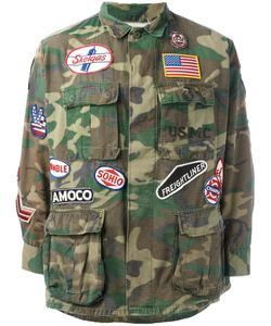 Htc Hollywood Trading Company | Military Patch Jacket Xl