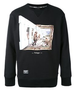 KTZ | Graphic Printed Sweatshirt Xs