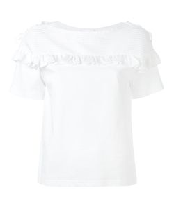 Chloé | Frill Embroidered T-Shirt M