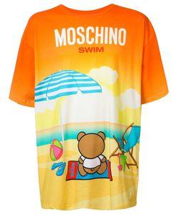 Moschino | Beach Teddy T-Shirt Medium Cotton