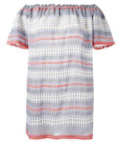 Lemlem   Striped Off-Shoulder Dress L