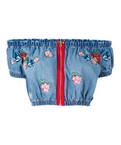 House Of Holland | Embroidered Crop Top