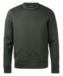 Emporio Armani | Logo Embossed Sweatshirt Men