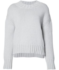 Sally Lapointe | Loose-Fit Jumper Small Wool/Cashmere