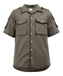 Moncler Gamme Bleu | Grosgrain Trim Flap Pocket Shirt Size 4