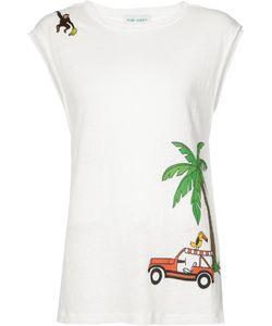 Mira Mikati | Palm-Tree Tank Top Size 38