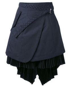 Sacai | Asymmetric Wrap Skirt 3