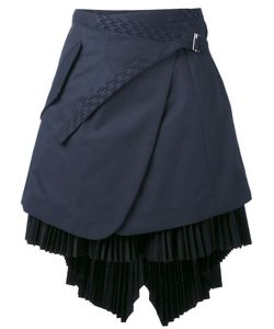 Sacai | Asymmetric Wrap Skirt 3