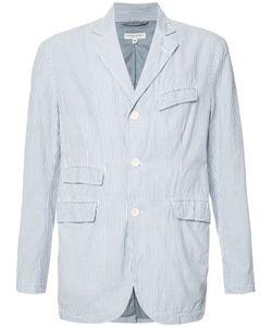 Engineered Garments | Seersucker Stripe Blazer Size Medium