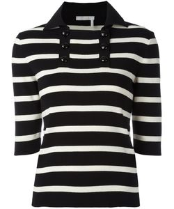 Chloé | Striped Knitted Top Size Large
