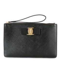 Salvatore Ferragamo | Vara Clutch Calf Leather