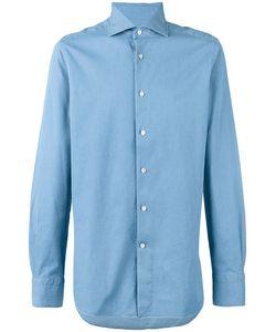 Ermenegildo Zegna | Pointed Collar Long Sleeved Shirt
