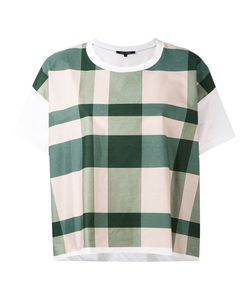 Sofie D'hoore | Checked Boxy T-Shirt