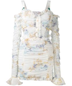 Alessandra Rich | Gathered Mini Dress