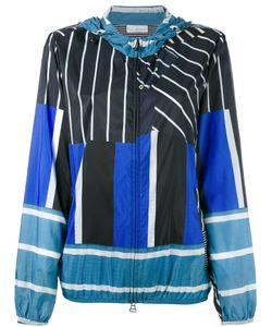 Pierre-Louis Mascia | Multi-Stripe Hooded Jacket