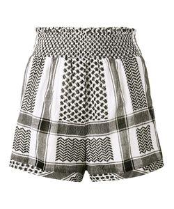 Cecilie Copenhagen | Keffiyeh High Waisted Shorts