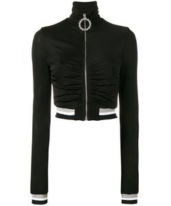 Alessandra Rich | High Neck Track Top