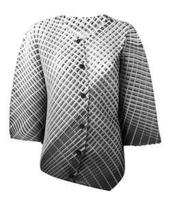 Pleats Please By Issey Miyake | Boxy Printed Jacket Size