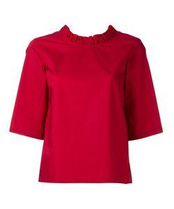 Lareida | Rocco Frilled Short Sleeve Blouse