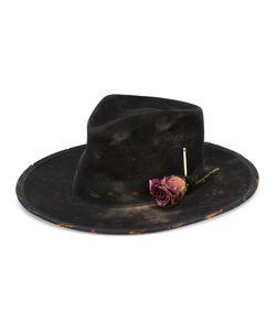 Nick Fouquet | Rose Fedora Hat Size 58 Rabbit