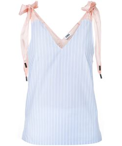 Sonia By Sonia Rykiel | Lace-Up Striped Top Women