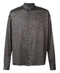 Robert Geller   Leopard Print Shirt