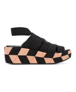 Salvatore Ferragamo | Grosgrain Wedge Sandals