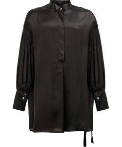 Ann Demeulemeester | Pleated Sleeve Shirt Size Xs