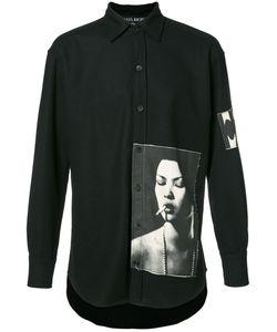 Enfants Riches Deprimes   Photo Printed Button Up Sweatshirt
