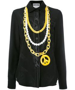 Moschino | Trompe Loeil Chain Shirt Size 48