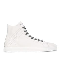 Hogan Rebel | Printed Lace Hi-Tops Size 7