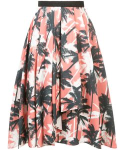 Jason Wu | Palm Print Midi Skirt