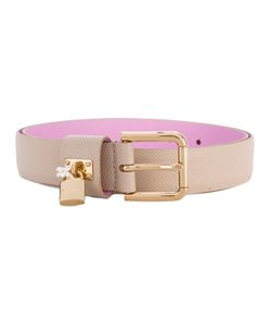 Dolce & Gabbana | Padlock Buckle Belt Calf