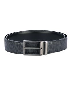 Salvatore Ferragamo | Textured Leather Belt