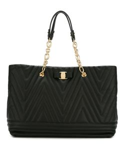 Salvatore Ferragamo | Textured Tote Bag