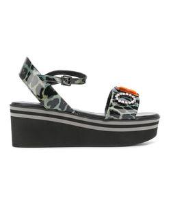 Robert Clergerie   Paule Platform Sandals Size 37.5