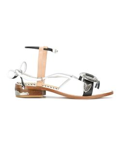 Toga Pulla   Front Buckle Sandals