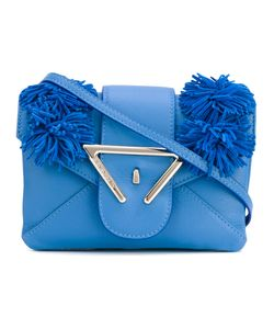 Sara Battaglia | Frayed Detail Crossbody Bag Calf