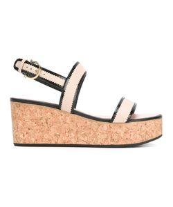 Salvatore Ferragamo | Wedged Sandals 4.5
