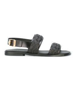 Versace | Woven Strap Sandals Size 45