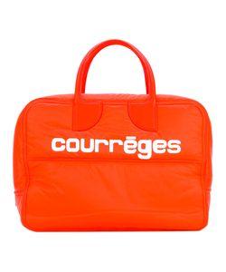 Courrèges   Logo Print Tote