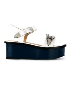 Toga Pulla | Buckled Platform Sandals Size 38.5