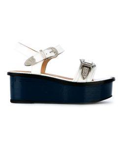 Toga Pulla   Buckled Platform Sandals Size 38.5