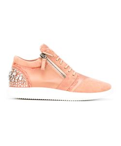 Giuseppe Zanotti Design | Crystal Embellished Sneakers