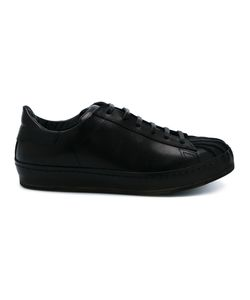 Hender Scheme | Striped Toe Cap Sneakers 43.5 Leather/Pig
