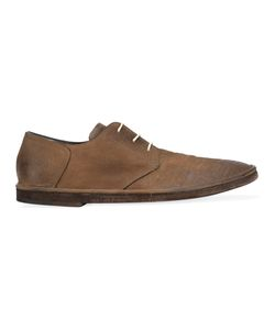 Roberto Del Carlo | Distressed Derby Shoes