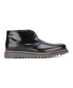 Salvatore Ferragamo | Patent Desert Boots Size 9.5